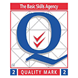 Basic Skills Agency - Quality Mark Two Logo